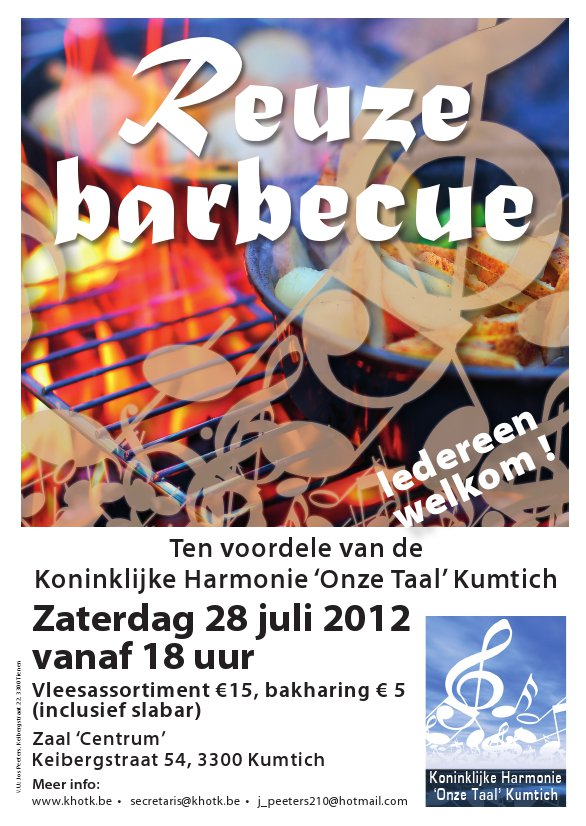 Reuze Barbecue 28.07.2012